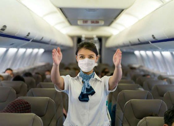 Have a safe air travel in the mids of pandemic