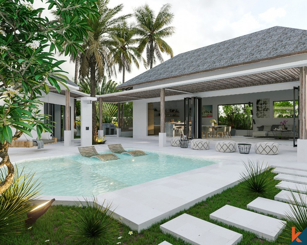 luxurious villa Seminyak with private pool in a beautiful island