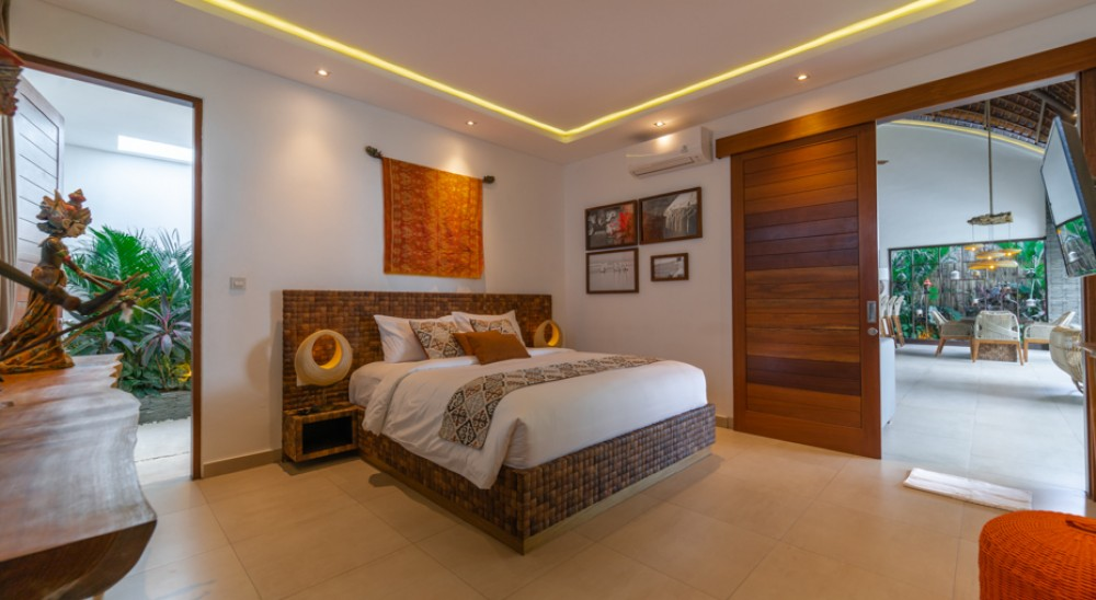 Ubud villas - Spacious Bedroom - KClub Project 2021 - Villa Bali Sale
