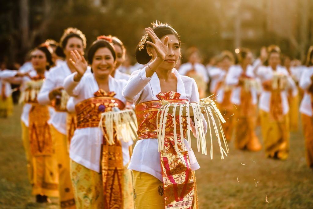 indonesian's culture - balinese ceremony